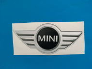 MINI logo sticker/decal x2